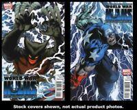 Totally Awesome Hulk 7 8 9 10 11 12 Complete Civil War II Set EXCELSIOR BIN