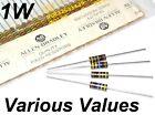 ALLEN BRADLEY 1W RCR32G resistor various values MILITARY: 10K 220K 10M other