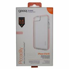Gear 4 Piccadilly Case pour iPhone 5/5 S & SE. D30 Impact Protection-Or Rose