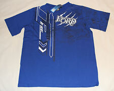 Ford Boys Blue Claw Printed Short Sleeve T Shirt Top Size 12