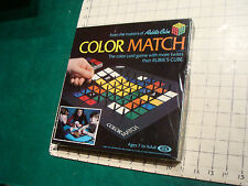 Factroy Sealed RUBIK'S COLOR MATCH game Ideal 1982