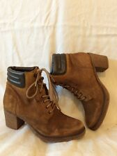 Dockers Brown Ankle Leather Boots Size 37