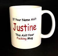 Personalised Mug Funny Rude Novelty Work Mug Birthday Christmas Gift Treat