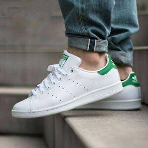NEW Adidas Originals Stan Smith Shoes Sneaker White Green M20324 Men's