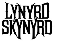 LYNYRD SKYNYRD LOGO VINYL DECAL Laptop Window Car Wall Sticker