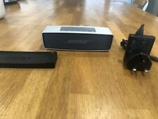 Bose SoundLink Mini Bluetooth Speaker - Silver with Charging Dock and Cable