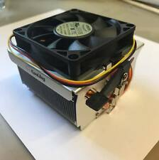 AMD Copper 3pin CPU HEATSINK & FAN COOLER SOCKET 754, 939, 940, C32, AM2, AM3,