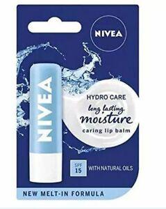 Nivea Pure Water And Aloe Lip Hydro Care (4.8g)