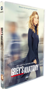 Grey's Anatomy Complete Season 16 DVD Watched Once