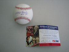 Whitey Ford Signed OML Baseball - PSA