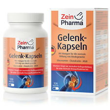 Zeinpharma Gelenkkapseln Comprimés Glucosamine Msm Chondroïtine Dose Élevée