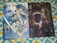 Lot of 2 Heroes: Volume One and Two [Hardcover] 1, 2 -Graphic Novels- Marvel