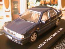 LANCIA THEMA TURBO I.E. 1988 ITALIA 1/43 EDISON EG BLEU FONCE MINIATURE 1:43