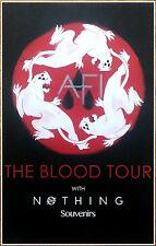 AFI The Blood Album 2017 Ltd Ed RARE Tour Poster +FREE Punk/Alt/Rock/Emo Poster!