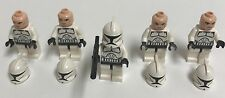 LEGO Star Wars Clone Trooper (Phase 1-2) Lot of 5 minifigures From 8098
