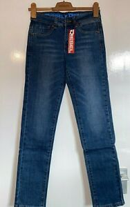 BOYS KIDS FAB DESIGNER DIESEL STRAIGHT JEANS TROUSERS AGE 13 Y YRS YEARS NEW