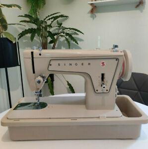 Singer Fashion Mate 239 Heavy Duty Semi Industrial Sewing Machine Leather Denim