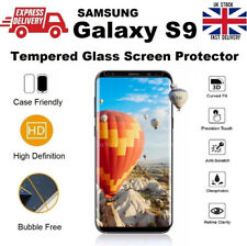 Extra Thin & Full Gorilla Glass Bubble Free Screen Saver For Samsung Galaxy S9