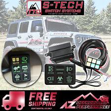 S-Tech 09-18 Jeep Wrangler Universal 6 Gang Switch Harness Kit