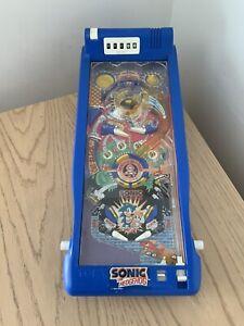 Vintage SONIC THE HEDGEHOG PINBALL 1992 Game Tomy Toy retro Vtg Sega (11