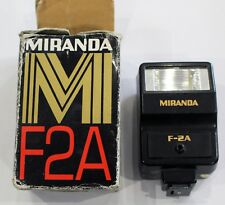 Vintage Miranda F2A Flash Gun with original box