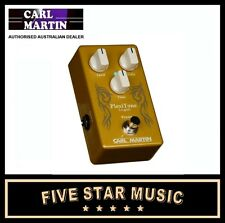 CARL MARTIN SINGLE PLEXITONE LO GAIN OVERDRIVE PEDAL PLEXI GUITAR EFFECTS