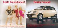 Lancia Ypsilon Sex and the City Prospekt 2003 2004 brochure Auto PKWs Italien