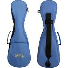 LANIKAI Tenor Ukulele Padded Gig Bag Blue With Logo