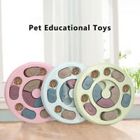 Dog Puzzle Toys Increase IQ Interactive Slow Dispensing Feeding Pet Games Fee Fy