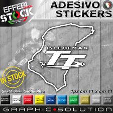 Adesivo Sticker Pegatinas ISLE OF MAN TT TOURIST TROPHY TRACK CIRCUIT MOTORBIKE