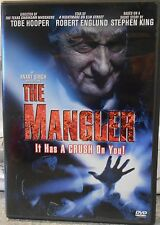 The Mangler (DVD 2004 R-Rated)RARE ROBERT ENGLUND HORROR 1995 MINT DISC W INSERT