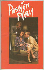"Barry Foster, Judy Parfitt  ""Passion Play""  Playbill London 1984 Peter Nichols"