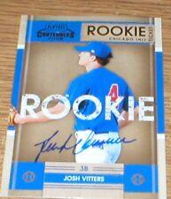 Rockies Josh Vitters RC Autographed Card