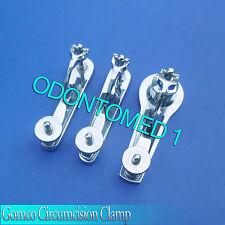 3 PCS Gomco Circumcision Clamp 1.1+1.3+2.9cm Surgical Instruments