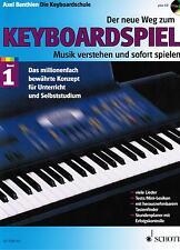Keyboard Noten Schule : Der neue Weg zum Keyboardspiel 1 m. CD BENTHIEN Anfänger