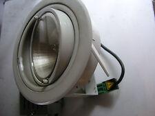 EBL 70 DS HQI HIT Einbaustrahler CDM-T 70W Downlight weiss m.KVG dreh+schwenkbar