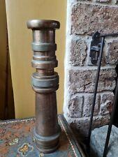 More details for stunning elgon vintage fire hose nozzle