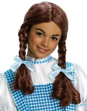 The Wizard of Oz Dorothy Child's Brown Costume Pigtails Wig