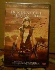 Resident Evil Extinction Exclusive 2-disc Limited Edition,New DVD, ,