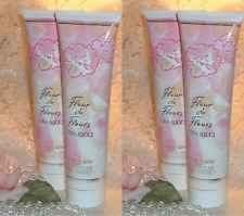 ~LOT~ FLEUR de FLEURS ~ Nina Ricci 10 oz / 300ml EACH ~ Perfume d Shower Gel