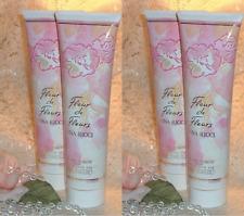 ~LOT~ FLEUR de FLEURS ~ Nina Ricci 10 oz / 300ml EACH ~ Perfume d Shower Gel