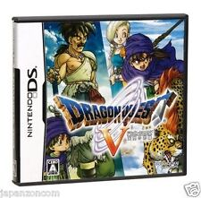 Used DS Dragon Quest V NINTENDO JAPANESE IMPORT