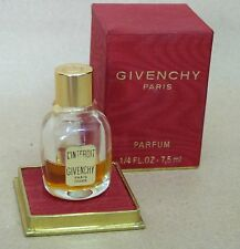 Vintage L'Interdit Perfume Bottle by Givenchy 1729 NEW IN BOX 7.5ml Paris France