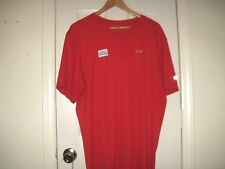 EARNHARDT GANASSI RACING TEAM ISSUE RED POLYESTER T SHIRT 2XL