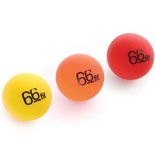 66fit™ Acupressure Trigger Point Massage Balls - Set of 3 - Stress Reflexology