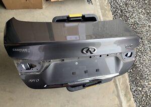 2014-2017 OEM Infiniti Q50 Trunk lid tailgate trunklid  Gray KAD Local Pick Up!!
