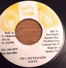 Tell Me Teacher/Rolex