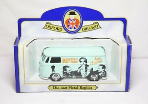 Oxford Volkswagen T1 Transporter Van Mint In Box Halfcocks Half Hour Lledo