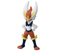 "Pokemon Figure Moncolle ""Cinderace"" Japan"