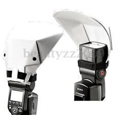 Universal Flash Bounce Reflector Diffuser Speedlight For Canon Nikon Pentax Sony